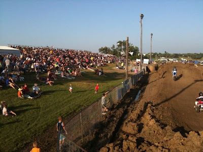 Washington County residents enjoy the MotoCross event in the Grandstand last Thursday.<br /> (Chance Dorland)