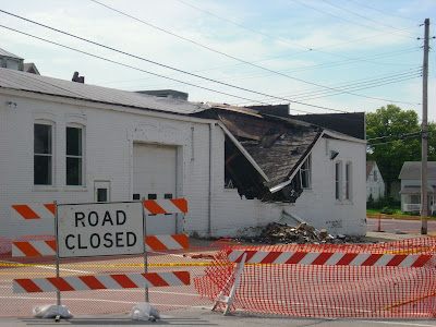 The Former Perdock Dealership, 221 West Washington Street in Washington.<br /> (Washington County Public Safety Center)