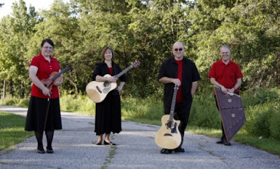 Prairie Serenade Members (From Left) Marissa Madison, Deb Hanson, Tim Cook and Jeff Nayadley.<br /> (pserenade.weebly.com)