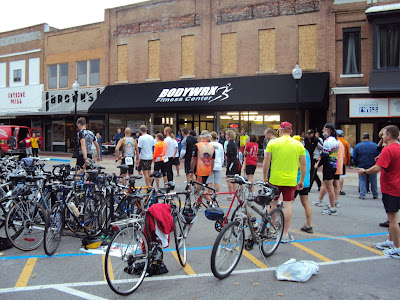 Dozens Of Athletes Were In Washington Saturday For The Flying Pigs Duathlon.<br /> (Bodywrx Fitness Center)