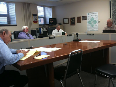 Washington County Supervisors Discuss The $4,000 Survey Needed To Research The Proposed Hospital Location.<br /> (KCII's Chance Dorland)