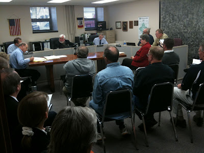 Yesterday's Meeting Of The Washington County Board Of Supervisors Was Nearly Standing Room Only.<br /> (KCII's Chance Dorland)