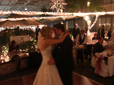 Nancee and Ryans first dance.