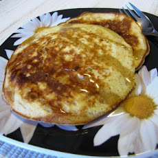 Brown Sugar Oatmeal Pancakes