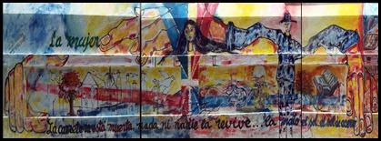 Mural, La mujer