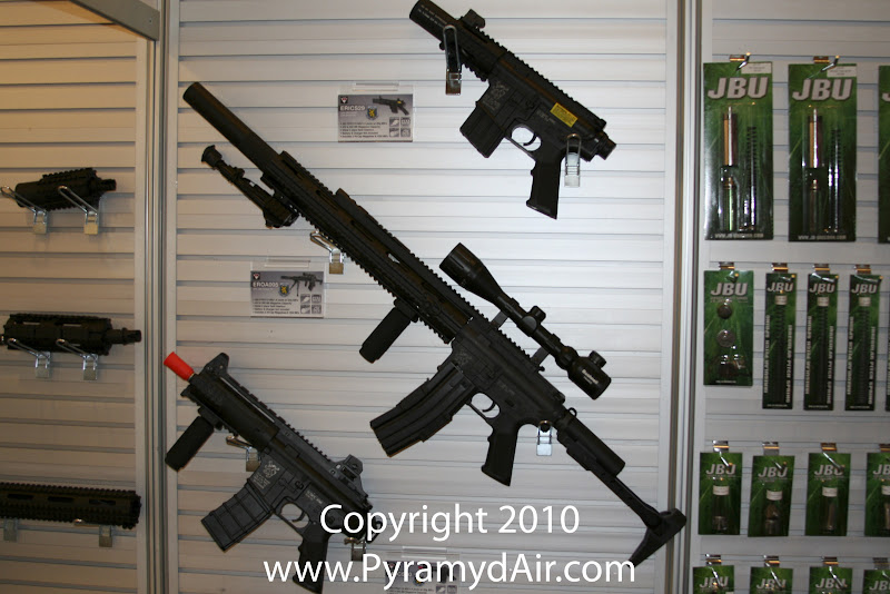 Airsoft Guns, Team SD, TSD, Shot Show 2011 News Updates,Shot Show 2011 TSD Booth, ICS Patriot-Style AEG Pistol Things, ICS Olympic Arms DMR AEG,Airsoft Automatic Electric Guns, Airsoft AEG,Pyramyd Air, Pyramyd Airsoft Blog, Airsoft Obsessed, Airsoft Blog