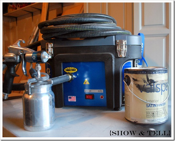 paint sprayer for furnituremy paint sprayer and a long story to go with it  Sweet Pickins