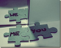 me you=we