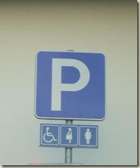 estacionamento para mulheres