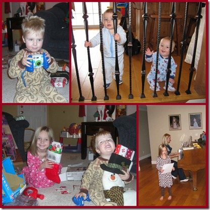 more Christmas collage
