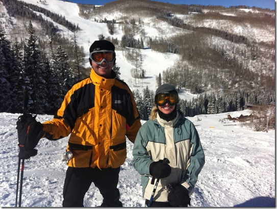 skiing at Beaver Creek during VCIR