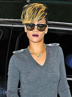 Celebrity Hairstyles - Rihanna's bad blonde