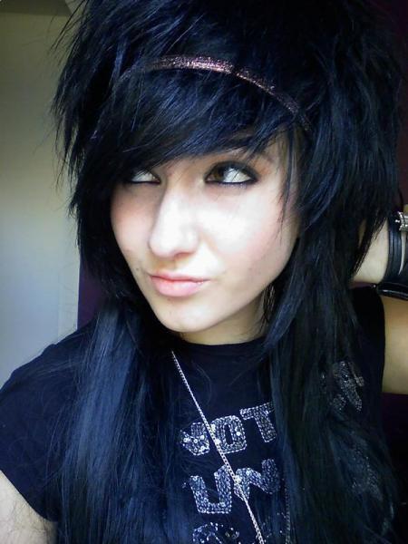 scene hair style 2010