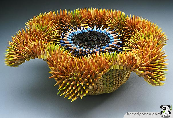 21 Stunning Pencil Sculptures by Jennifer Maestre
