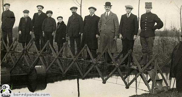 || COOL INVENTIONS FROM THE PAST|| INTERESTING AND FUNNY|| Cool-inventions-folding-bridge