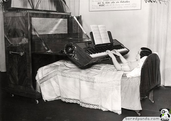 || COOL INVENTIONS FROM THE PAST|| INTERESTING AND FUNNY|| Cool-inventions-piano-bedridden