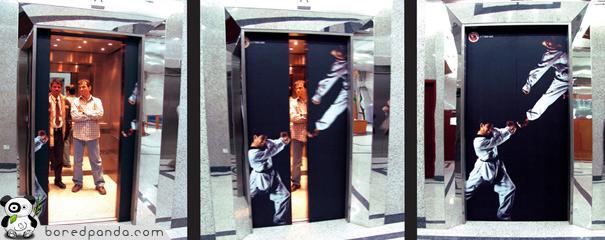 20+ Creative Elevator Ads