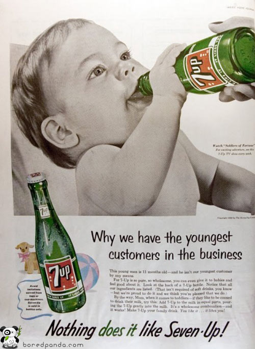 los anuncios más increibles... Vintage-Ads-7up