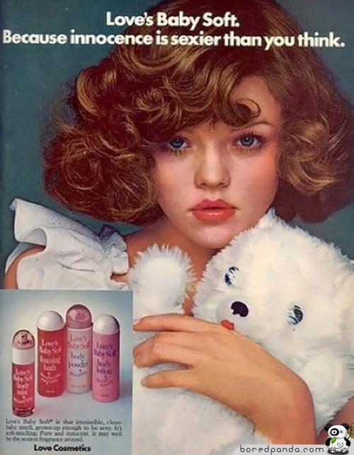 los anuncios más increibles... Vintage-Ads-Innocence