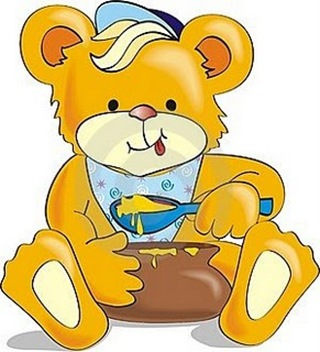 cartoon-bear-eating-honey