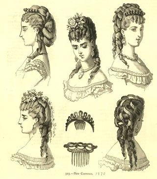 hair 1870s