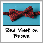 red vines on brown