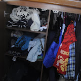Ronan's Clothes!  (Is Mummy keeping some dresses in here!?)