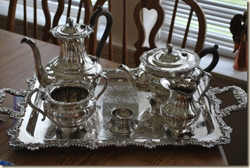 new (old) tea set