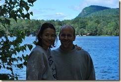 Brian and Lisa by lake