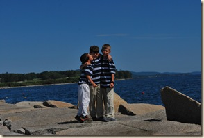 sweet boys at breakwater