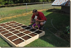 ag planting with dad