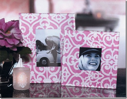 Antoinette Glass Picture Frame