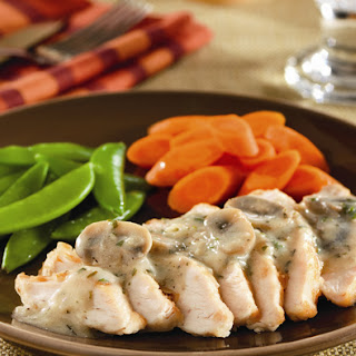 Pan-Seared Chicken Breasts with Creamy Mushroom Sauce