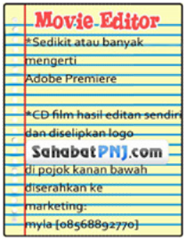 Persyaratan Movie Editor