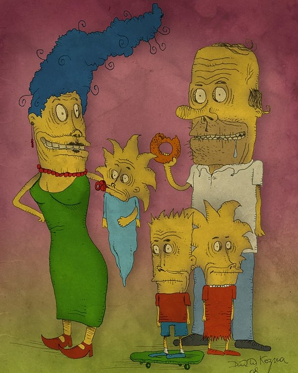 Junkie Cartoon Characters