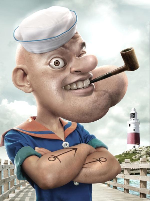 Authentic Popeye