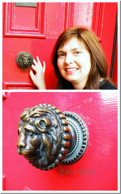St Marks Aslan door handle on old manse