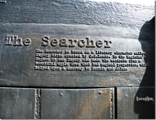 The Searcher bronze sculpture CS Lewis