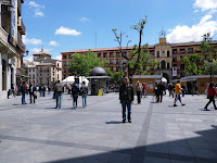 Plaza - vista de la Delegación de Gobierno Photo