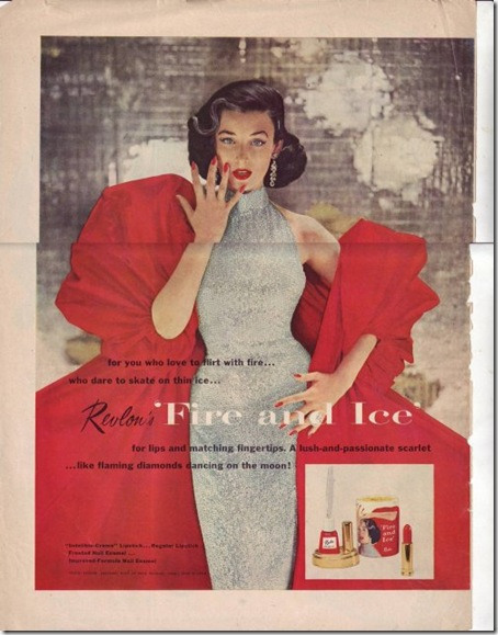 Revlon Fire and Ice 1952