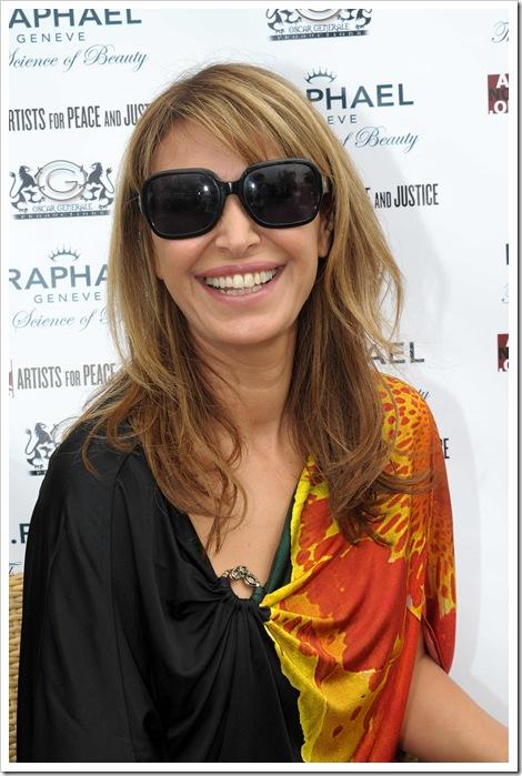 רונית רפאל  בפסטיבל  קאן  מאי  2011    צילום פרדריק  אלמס