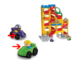 Wheelies Fisher Price