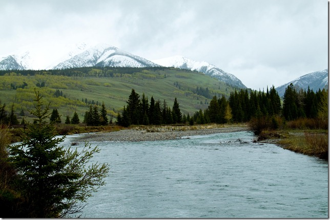 Yaha Tinda and the Red Deer River