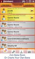 Screenshot of Checkers Online