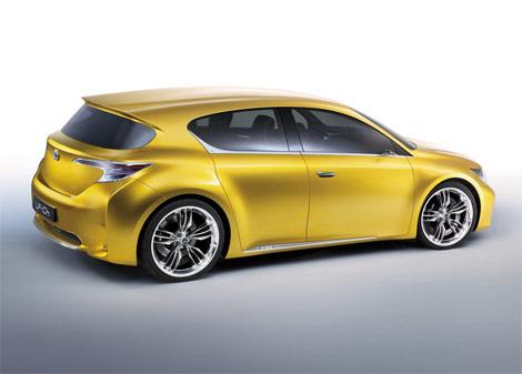 Hatchback Lexus LF-Ch