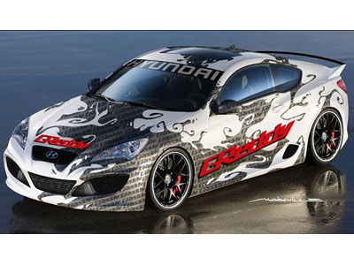 Tuning studio GReddy has finished model Genesis Coupe