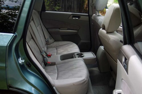 Subaru Forester, interior