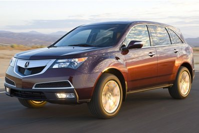 Honda updated off-road car Acura MDX