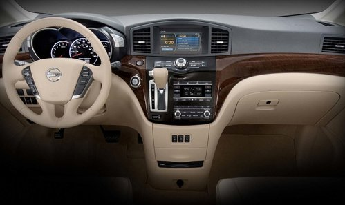 Nissan Quest, interior