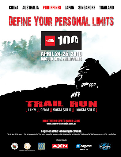 The North Face 100 trial running